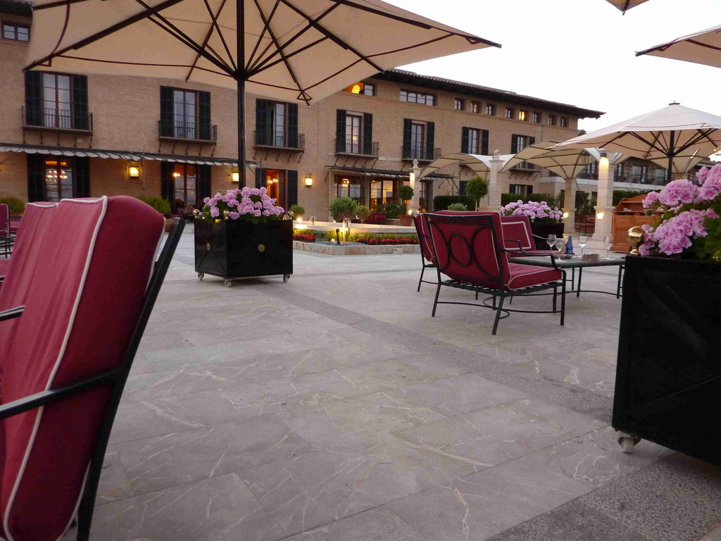 Hotel Son Vida - Terrasse