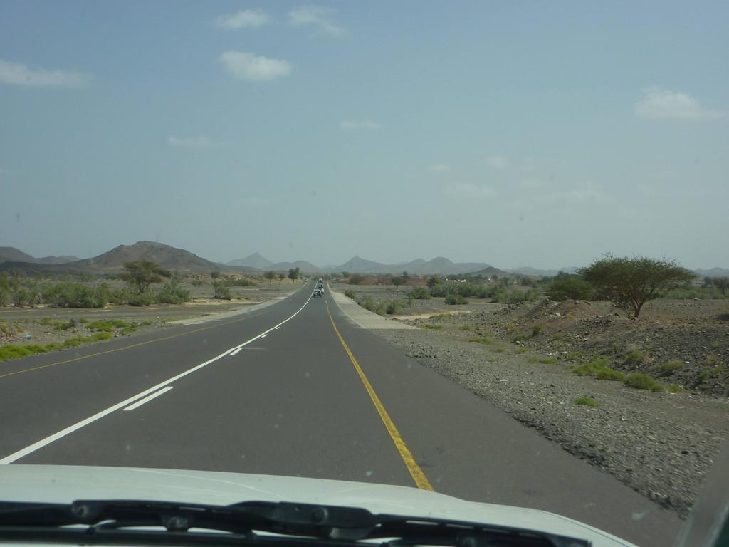 4. Tag - Auf der Fahrt von Nizwa über Al Mudayrib nach Wahiba Sands