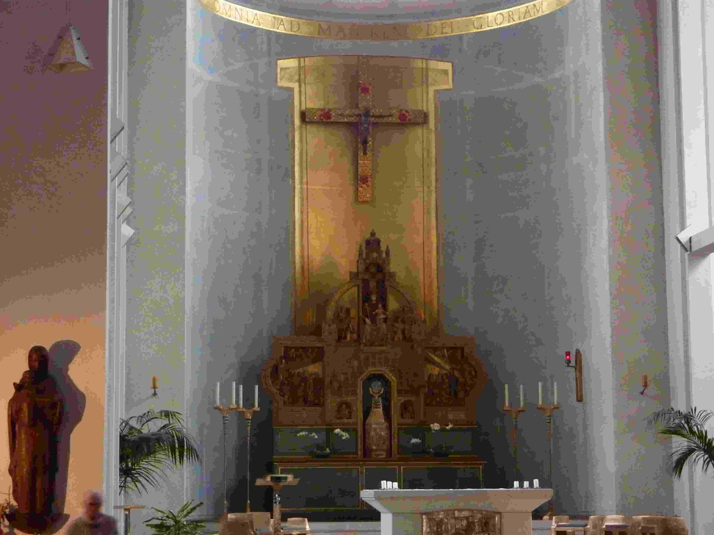 5.Tag - Stadtbesichtigung Jülich  /Probsteikirchge St.Mariä Himmelfahrt