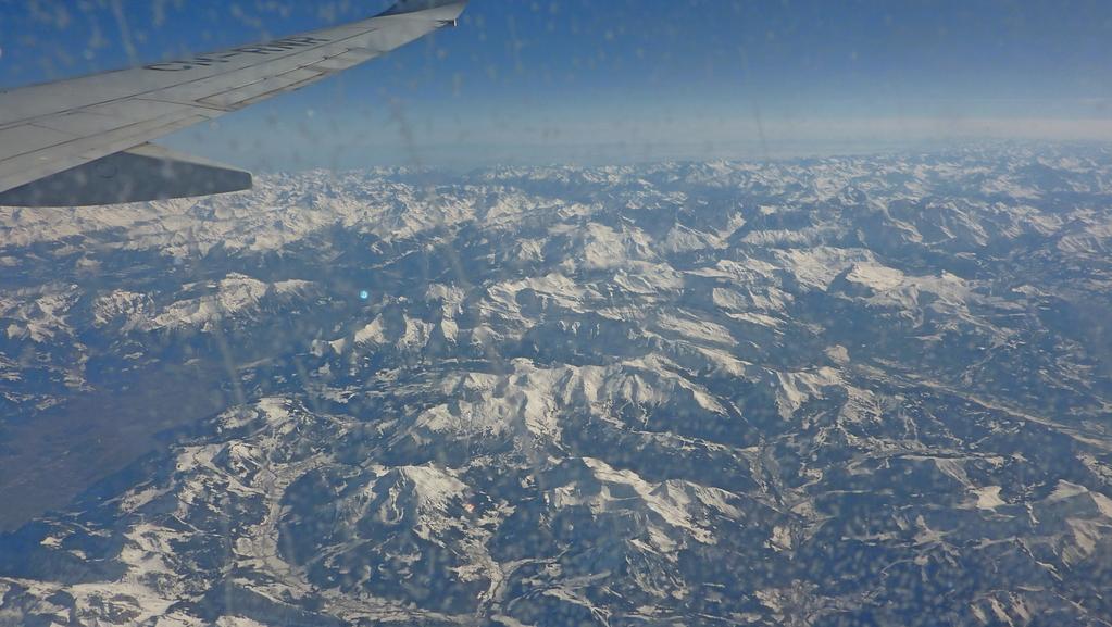 15.Tag - Rückflug Agadir - Casablanca - Frankfurt - Schweizer Alpen
