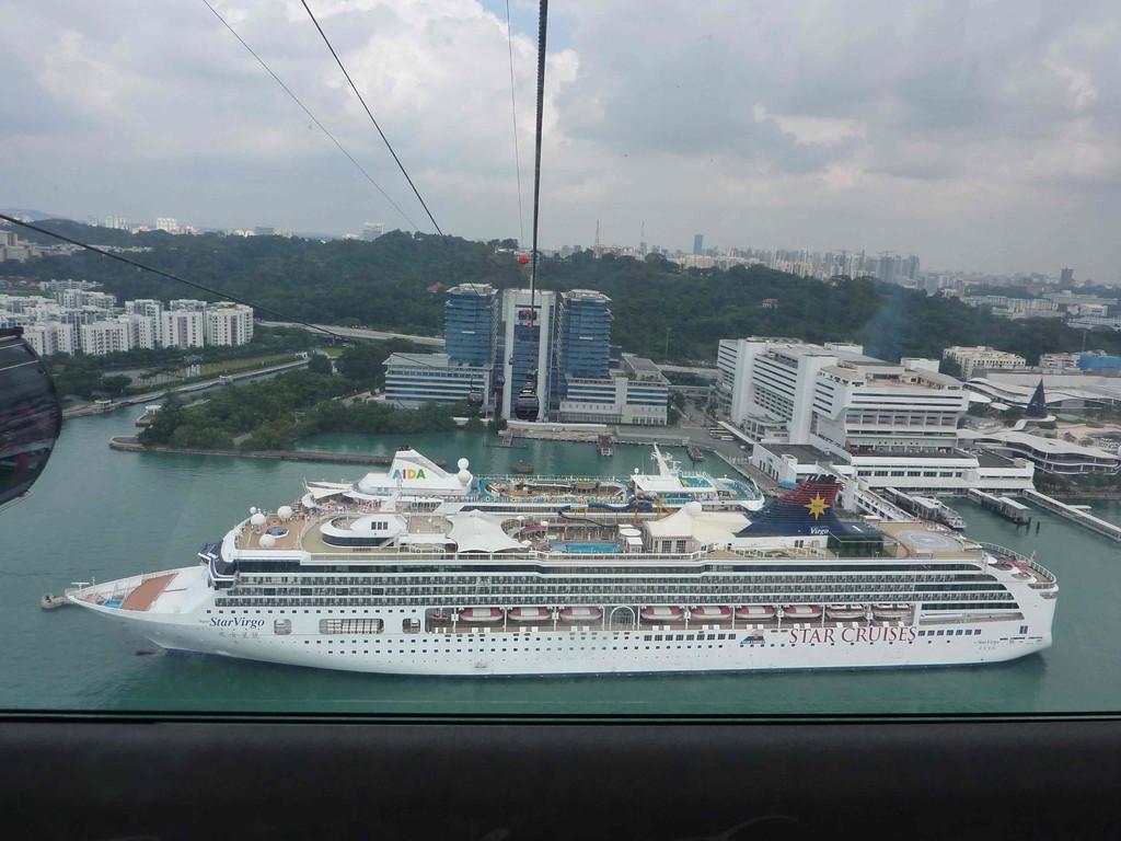 Singapur im Hafen