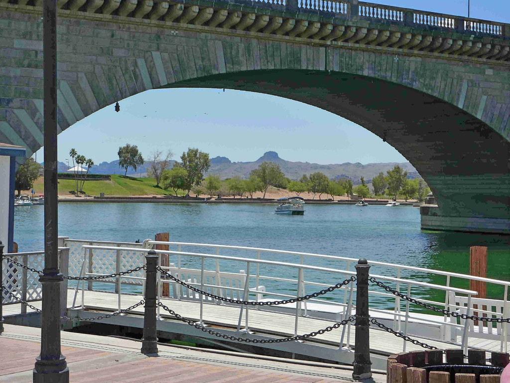 Auf Tour vom Joshua Nationalpark nach Bullhead City - Lake Havasu City m.d.Londen-Brigde