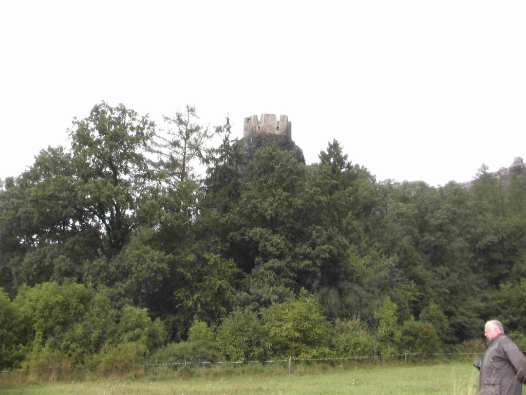 8.9.2007 Böhmische Schweiz -Burg Trosky
