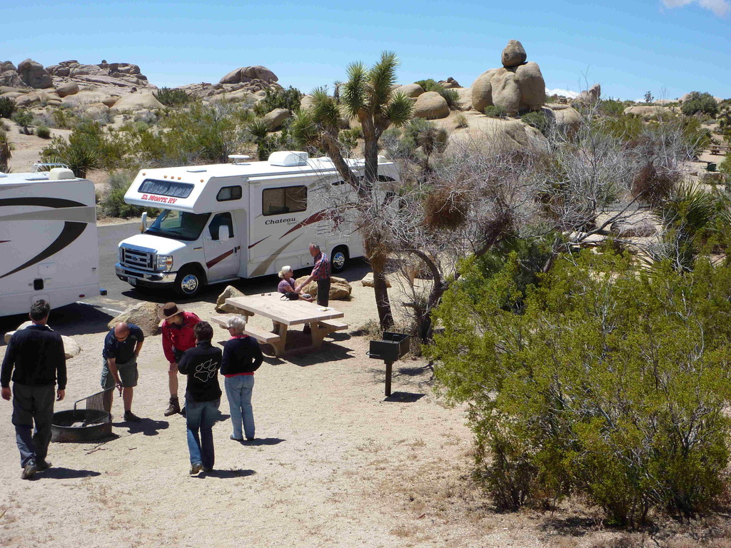 Joshua Tree Nationalpark - Campground Jumbo Rock