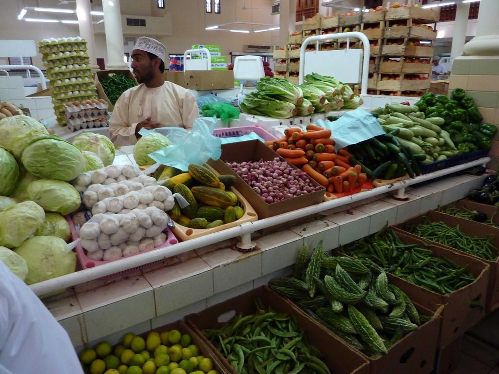 3. Tag - Nizwa Vieh- Ost- u. Fischmarkt