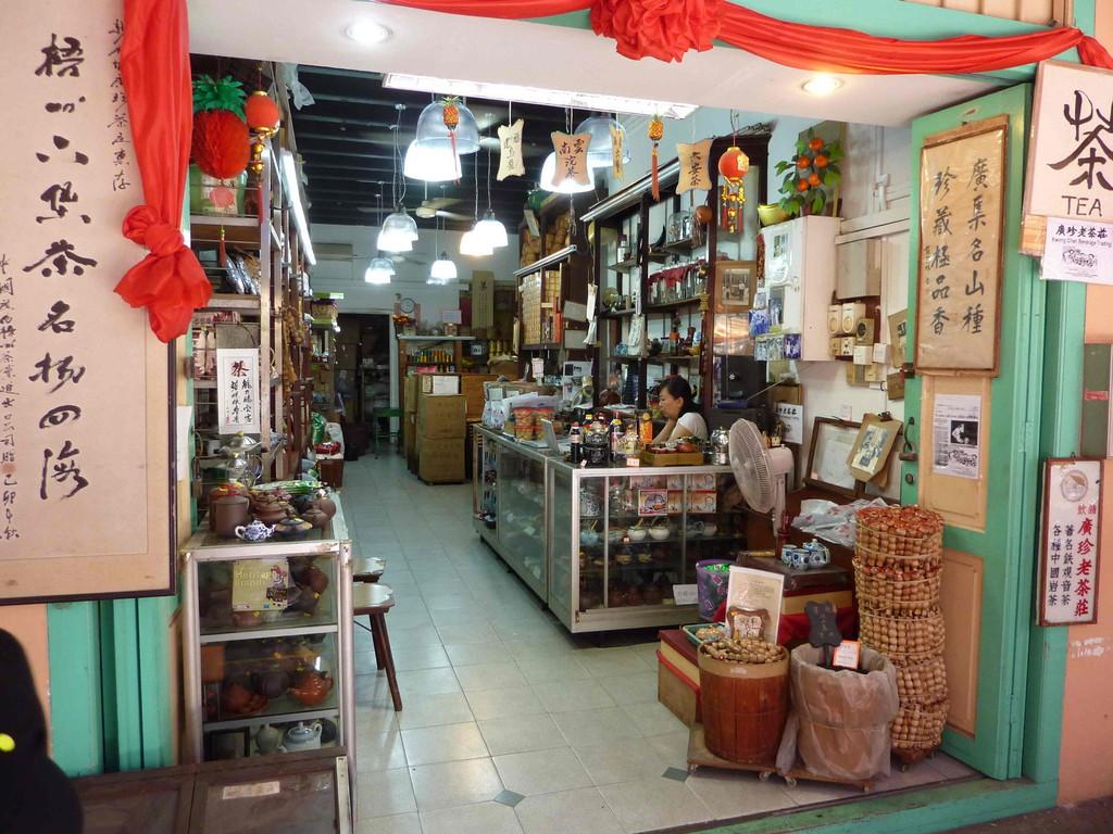 Singapur - Chinatown