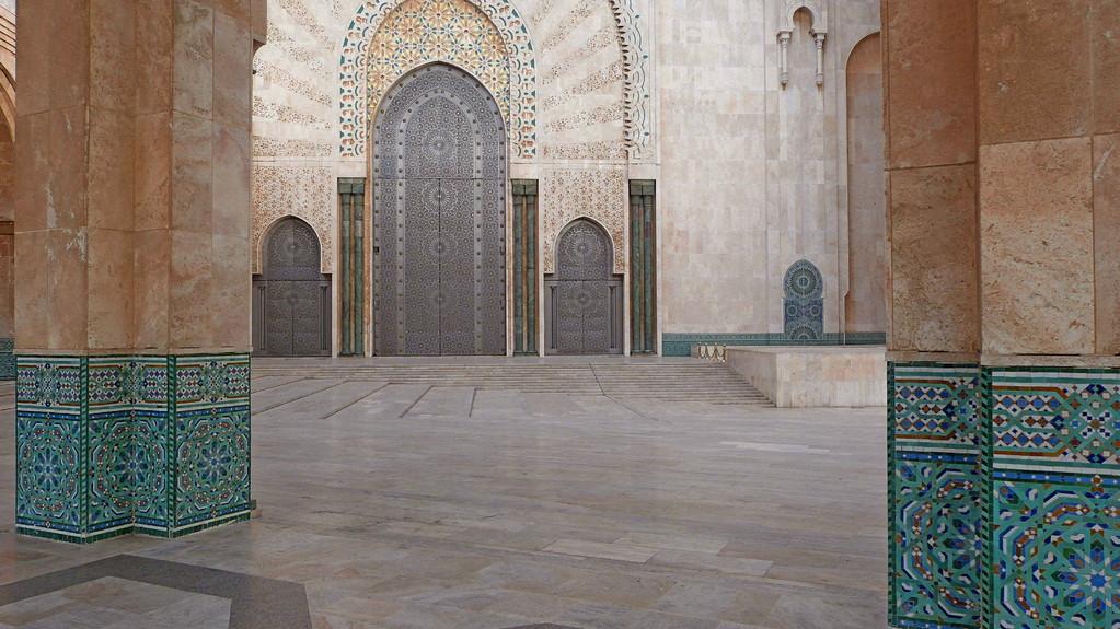 2.Tag - Casablanca - Moschee Hassan II