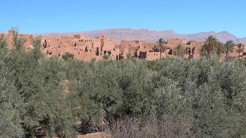7.Tag - Fahrt von Erfoed nach Quarzazate - die Straße der Kasbahs