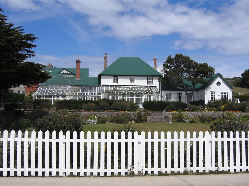 Stop Falklandinseln - Sitz des Gouverneurs