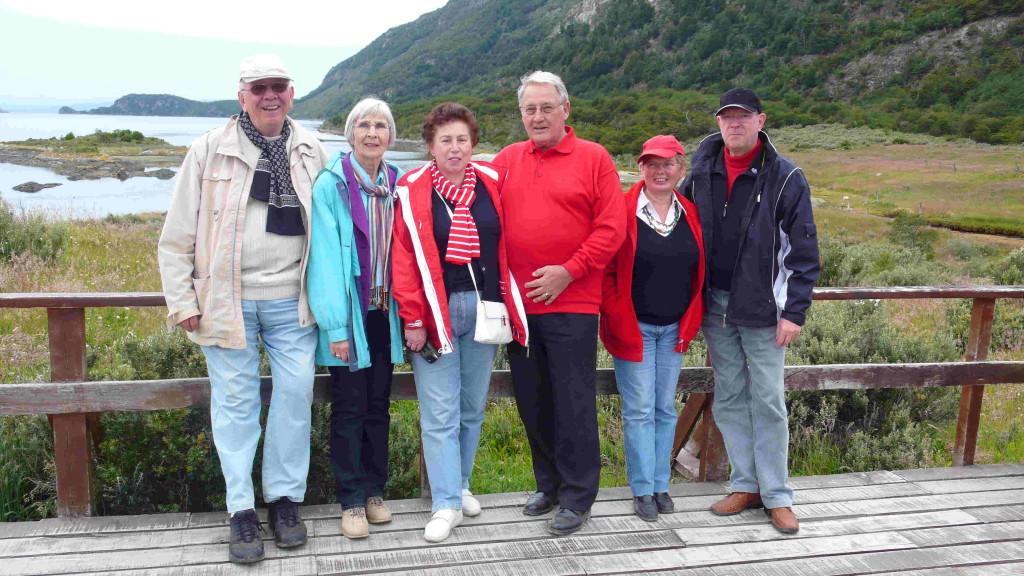 Stop in Ushuaia - Fahrt in den Nationalpark Feuerland - sechs Reiselustige