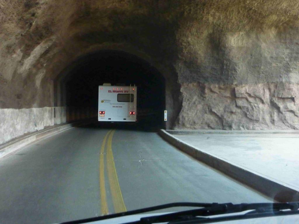 Einfahrt in den Zion Nationalpark