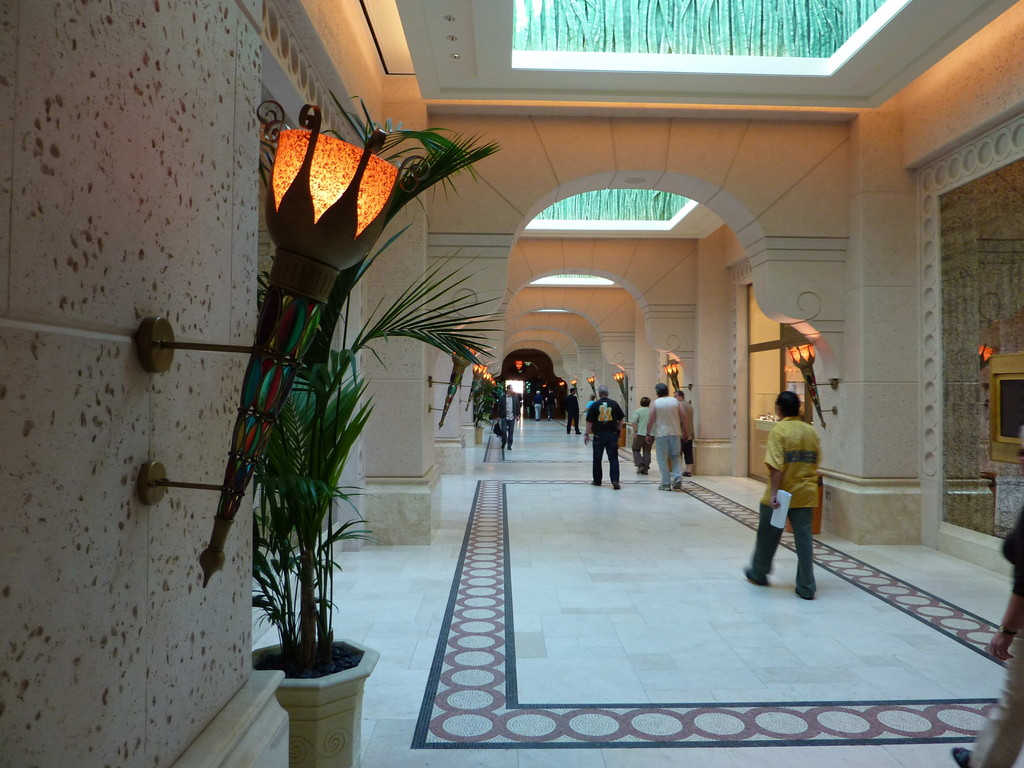 1.Tag - Dubai/Palme - Hotel Atlantis / Mall