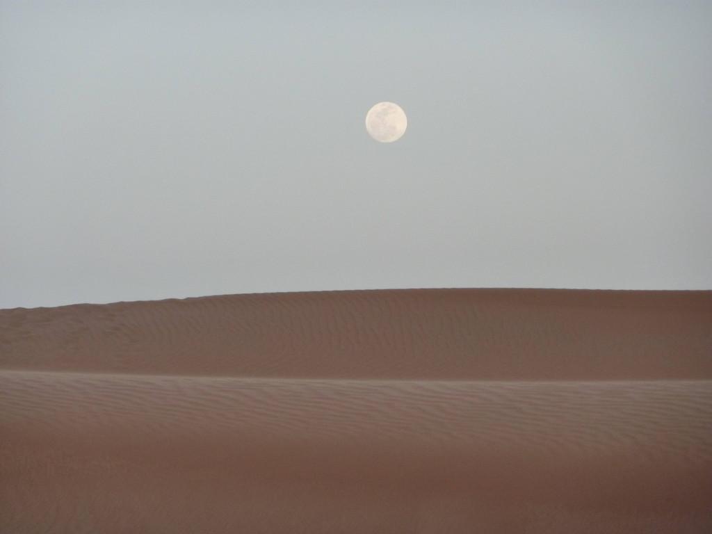 4. Tag - Wahiba Sands - Mondaufgang