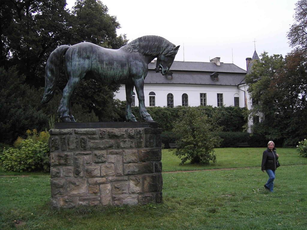 7.9.2007 Slatinian - Schloss und Schlossgarten