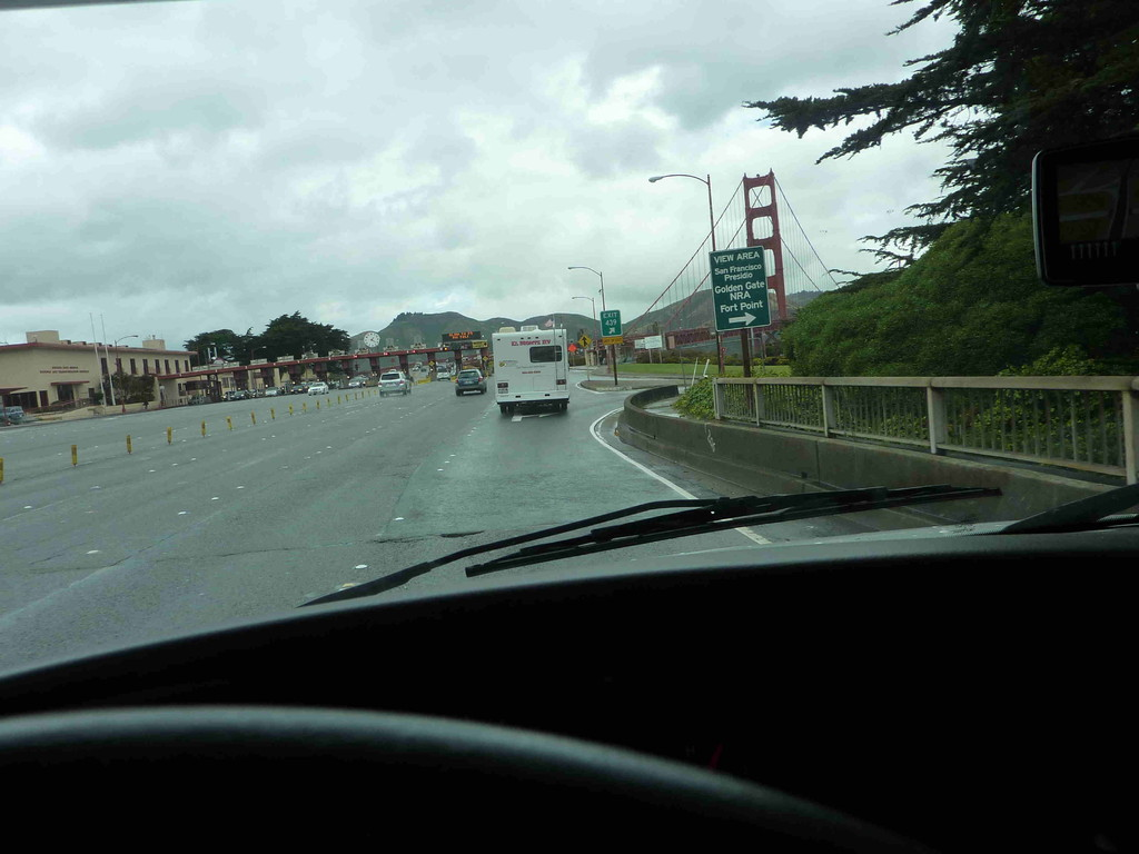 San Francisco, vor der Golden Gate Bridge