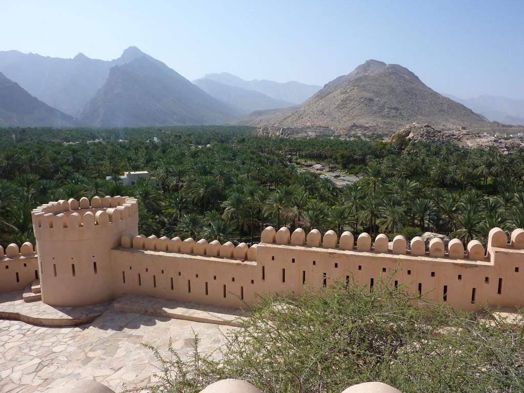 8.Tag Fahrt v. Muscat nach Fujaihra - Fort Rustaq