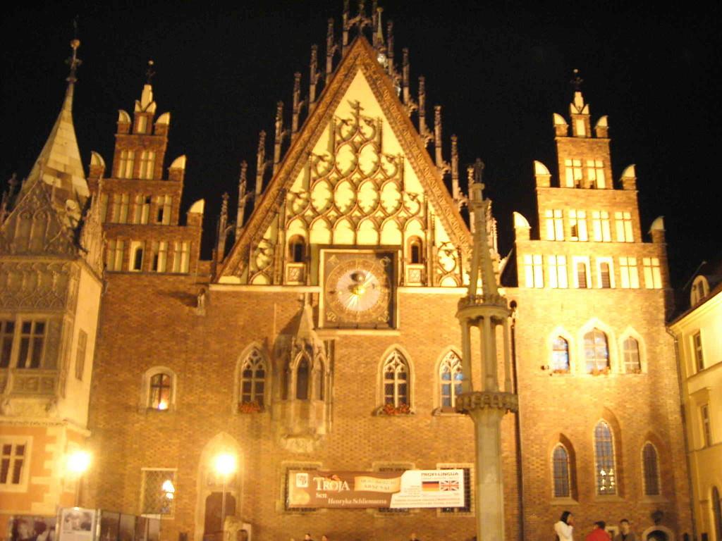 1.9.2007 Breslau bei Nacht