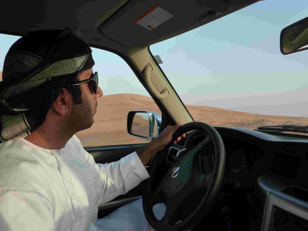 4. Tag - Auf der Fahrt nach Wahiba Sands