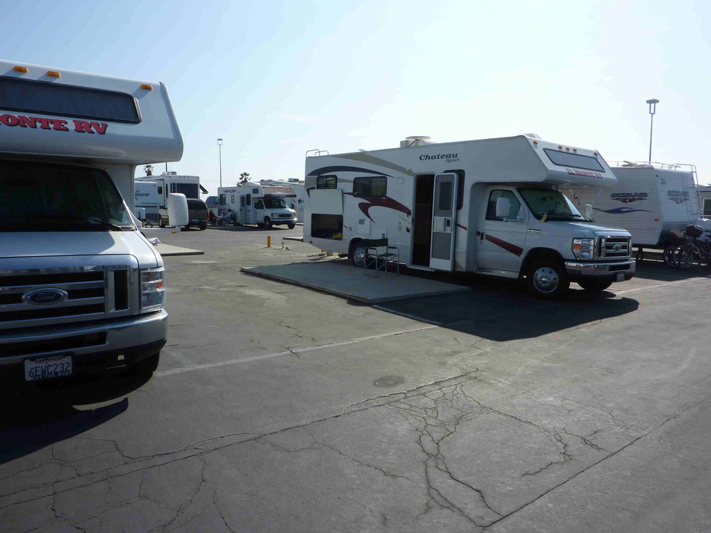 Huntington-Beach - Sea RV Resort - Ende der Reise