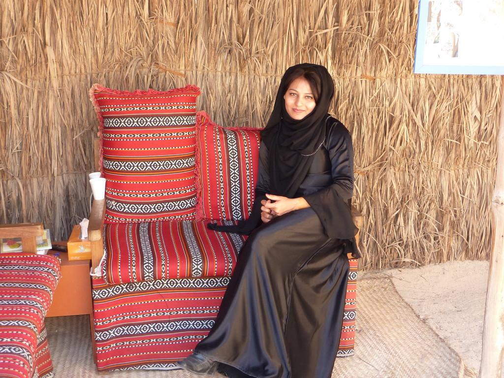 1.Tag - Dubai-Museum - arabische Schönheit