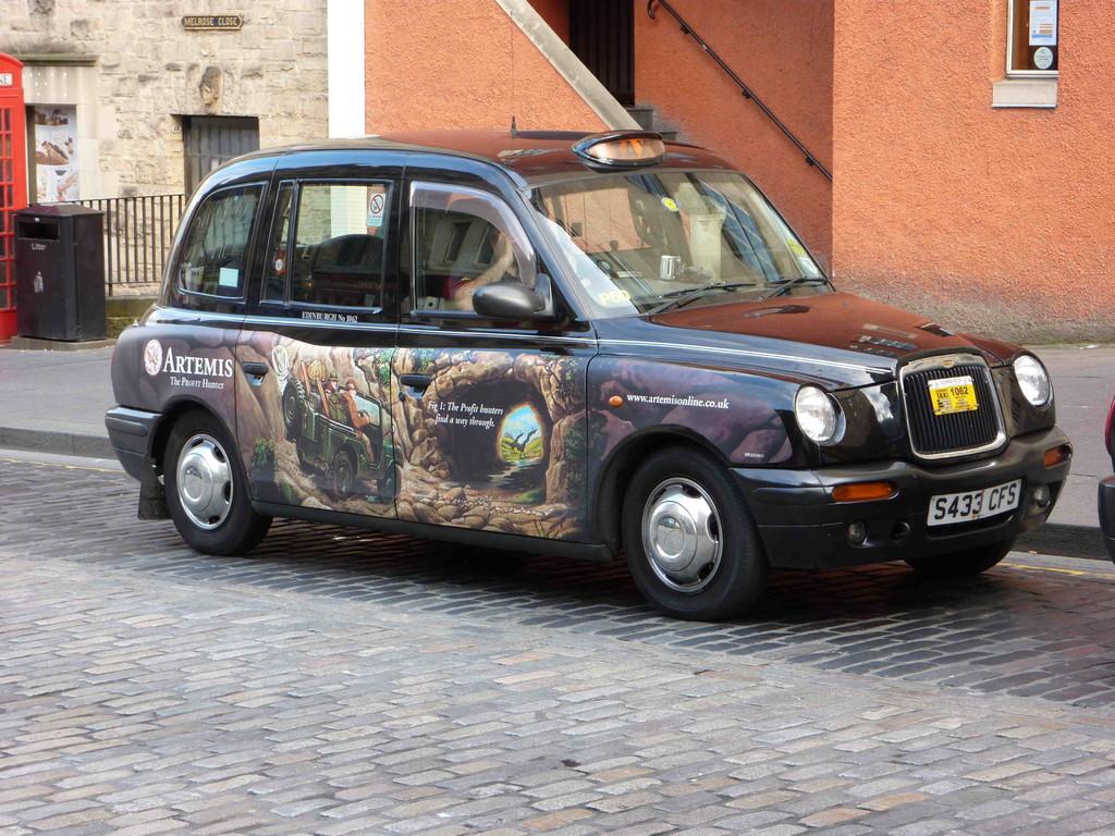 Edinburgh - Taxi