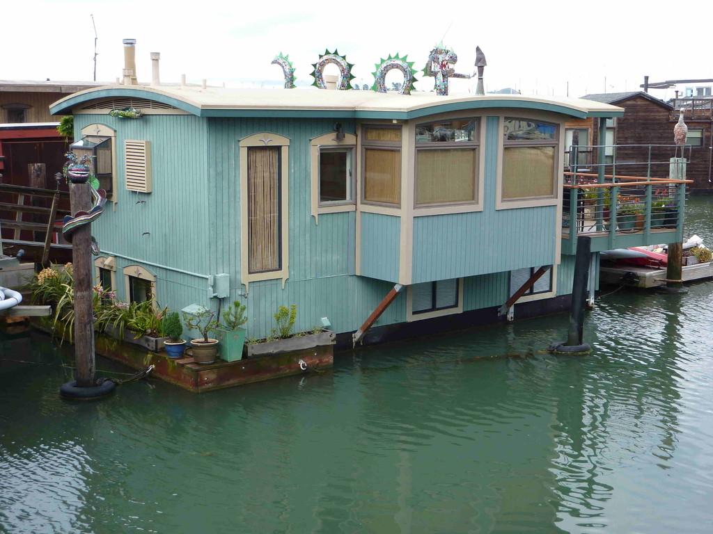 San Francisco - Wohnschiffe in Sausalito