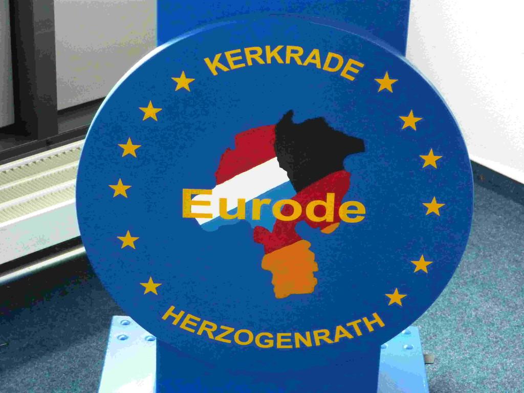 6.Tag - Eurode / Herzogenrath/D + Kerkrade/NL - ein Gebäude auf 2 Ländern