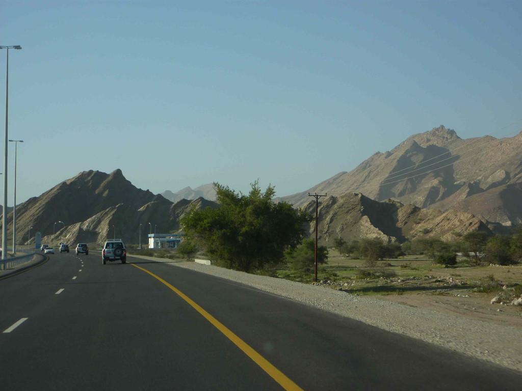 6. Tag - Auf der Fahrt von Sur nach Muscat