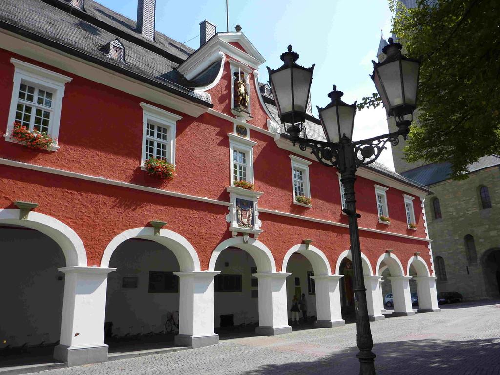 1.Tag - Stadtführung Soest -Rathaus
