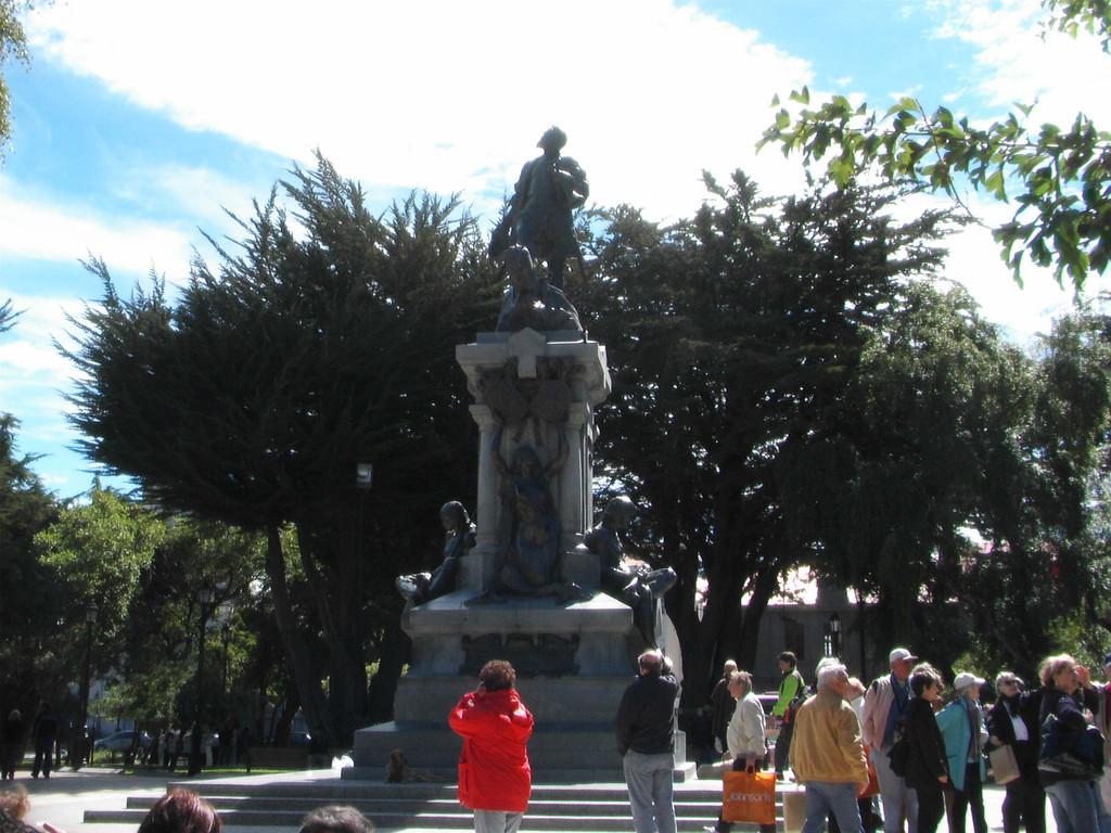 Stop in Punte Arenas