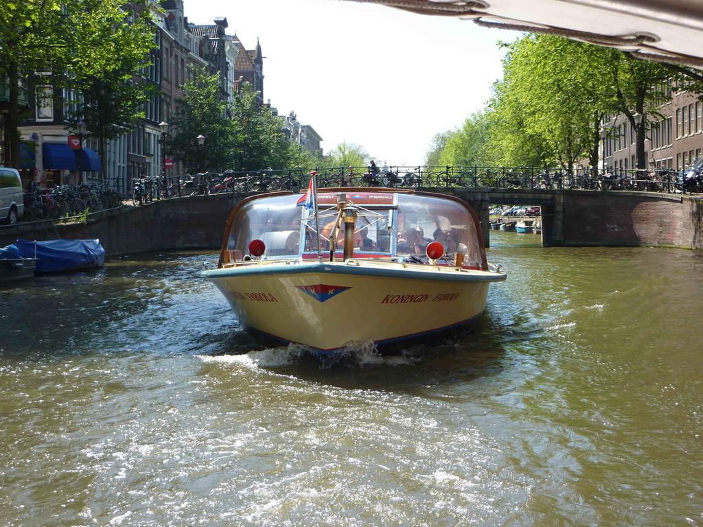 Amsterdam - Grachtenfahrt