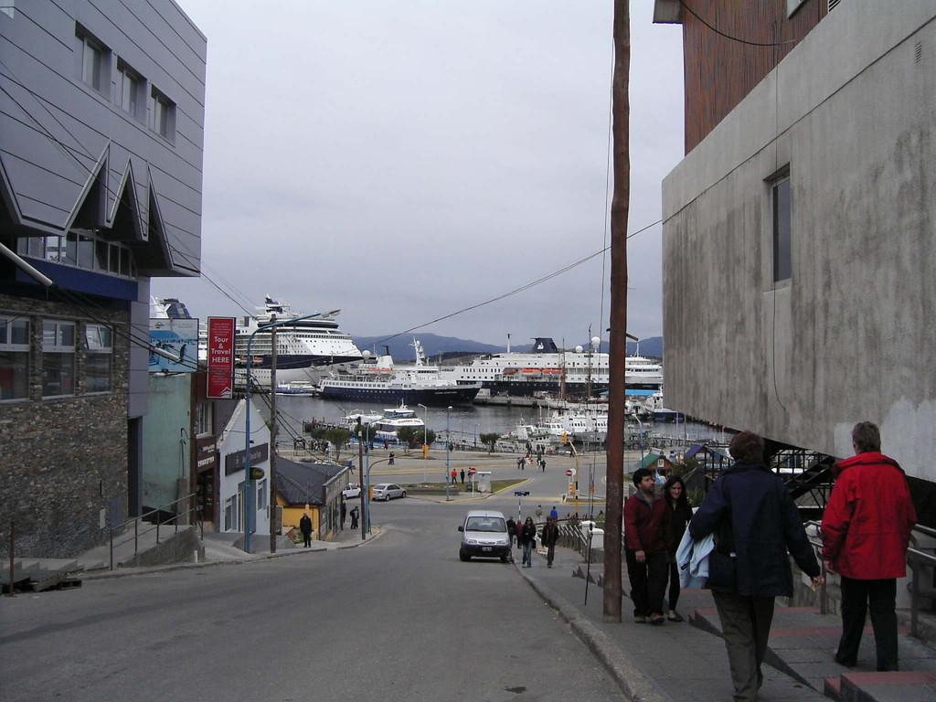 Stop in Ushuaia