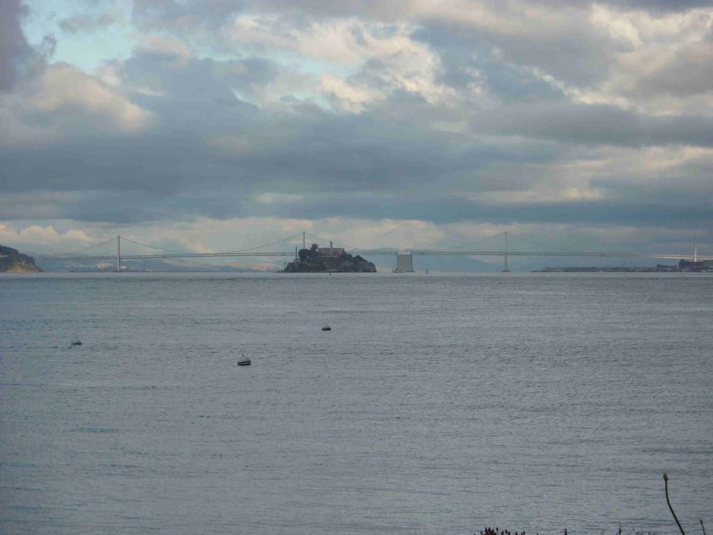 Mit der Fähre von Lakspur nach San Francisco (Alcatraz)