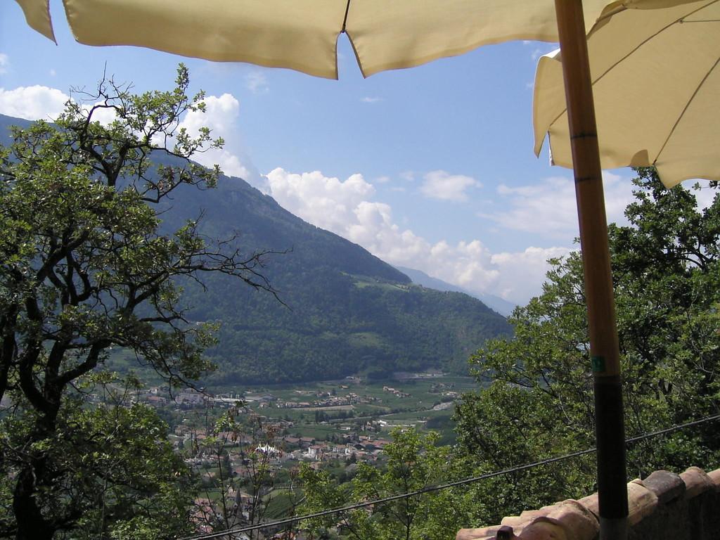 Walweg Richtung Schloß Tirol