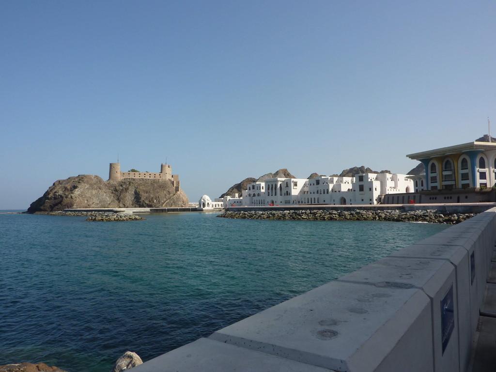 7. Tag - Muscut / Fort und Al Alam Palst (Residenz des Sultans)