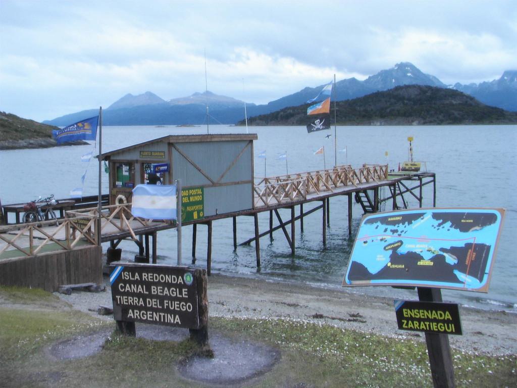 Stop in Ushuaia - Isla Redonda - südlichste Postamt der Welt