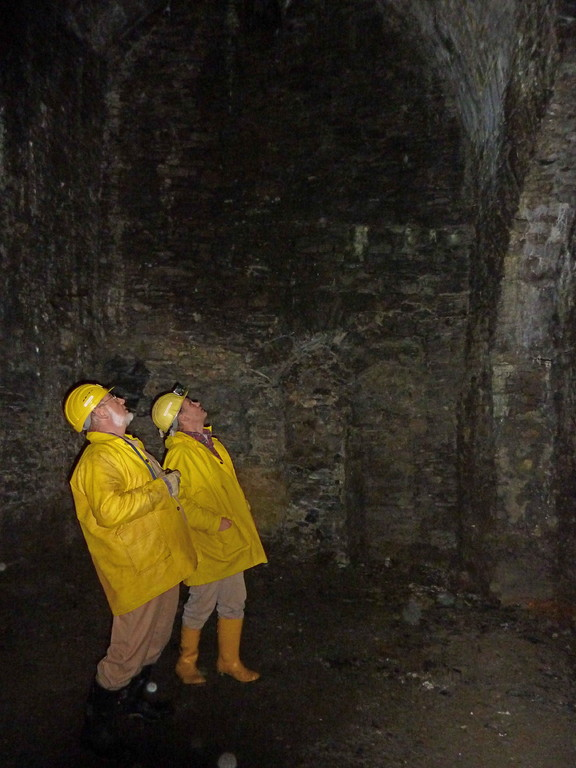 Das Feuergezähergewölbe wurde vor ca. 800 Jahren geschaffen