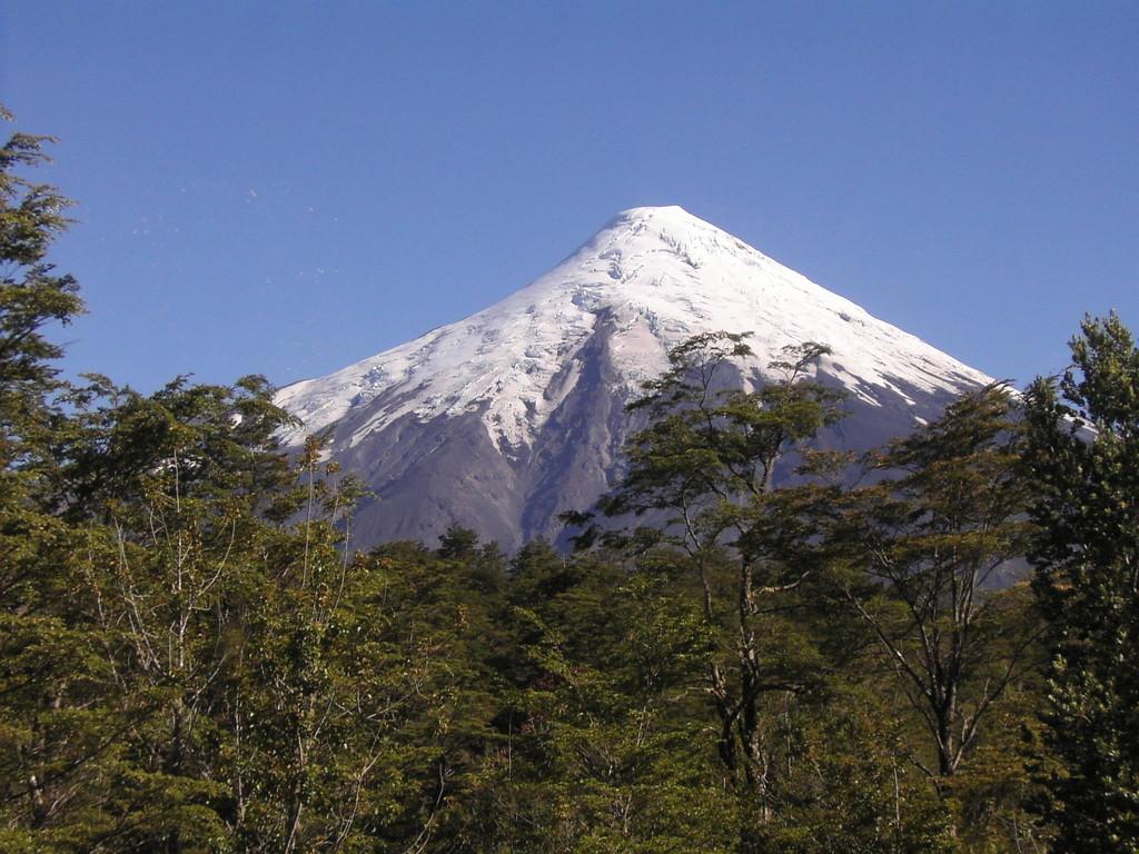 Stop in Puerto Montt - Vulkan Osorno