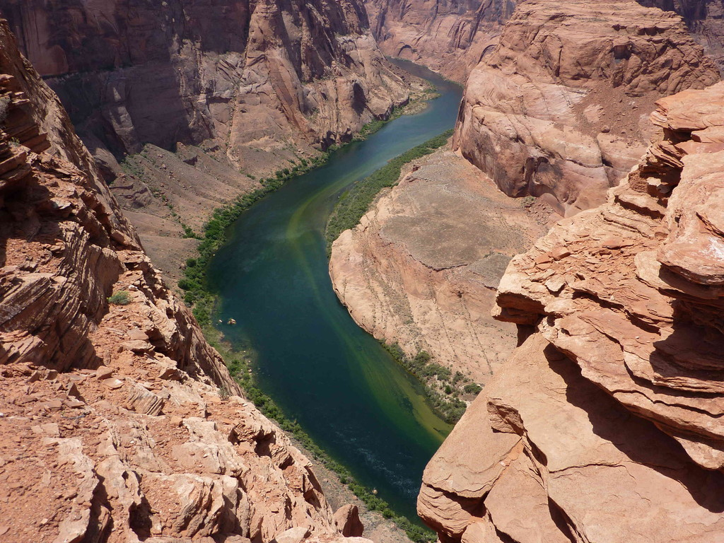 Auf Tour vom Grand Canyon zum Lake Powell - Horseshoe Bend (Colorado River)