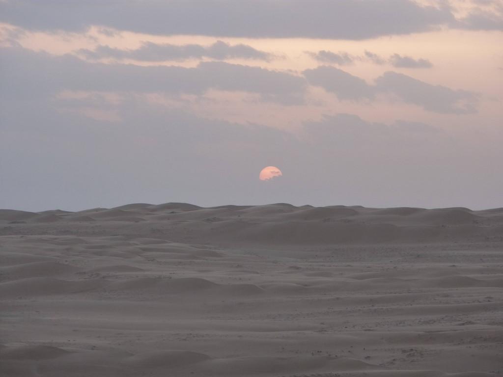 4. Tag - Wahiba Sands - Sonnenuntergang