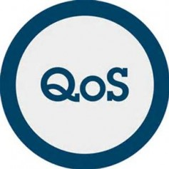 AES67 supports QoS parameters. Even so, proper utilization requires the use of DiffServ and priority tags to make this happen.