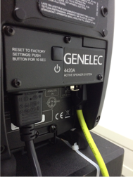 Genelec 4420A RAVENNA connection