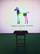 Bilder zum Baden-Baden-Award 2015