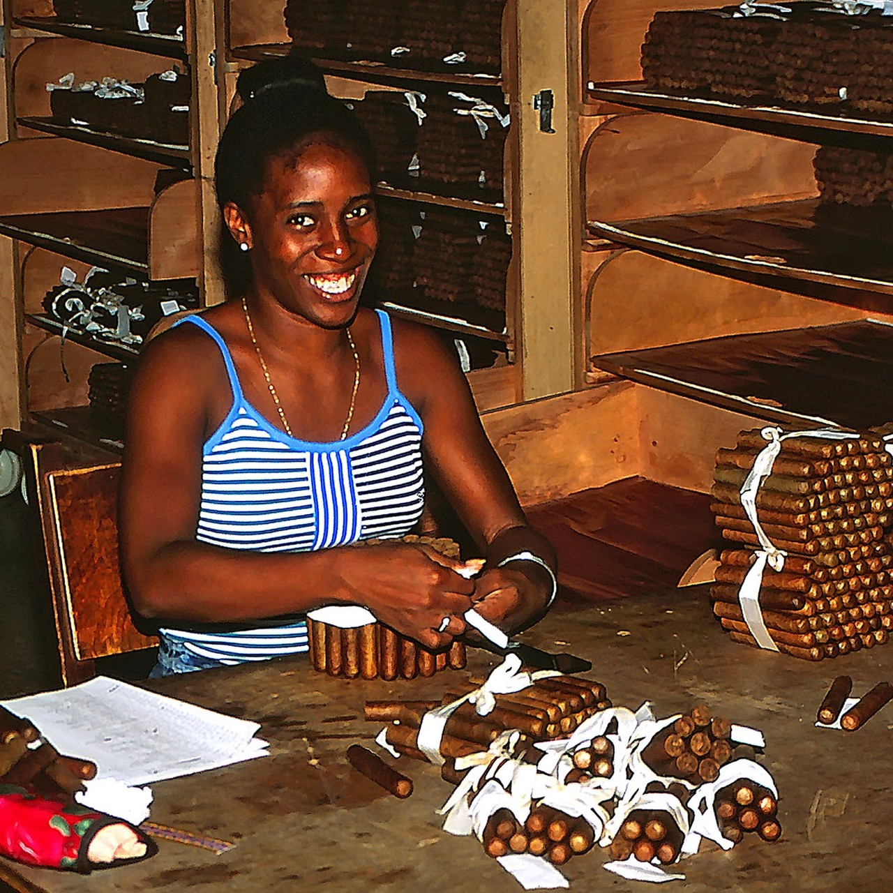 Cohiba Zigarrenfabrik Havanna/Kuba, 2000