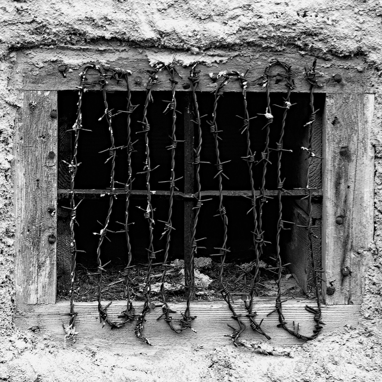 Kellerfenster in Kals, Osttirol, 2005