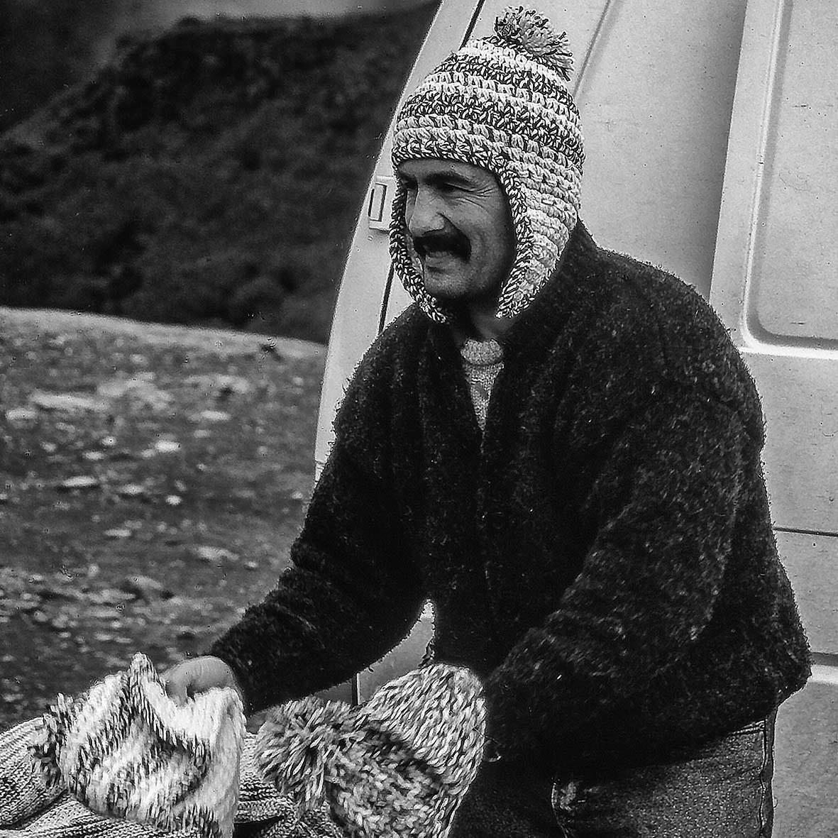Haubenverkäufer, Madeira/Portugal, 03 1997