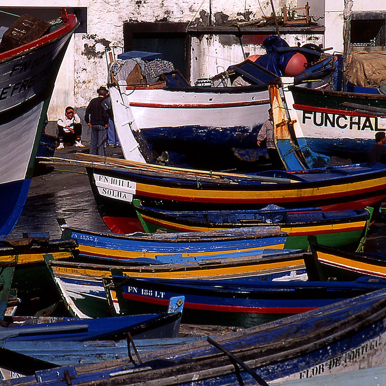 Fischereihafen Camara de Lobos, Madeira, 1997