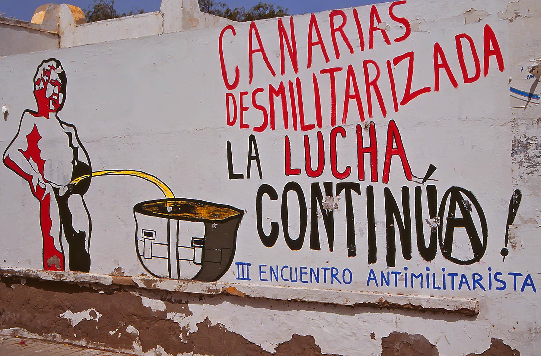 Desmilitarizda, Gran Canaria, 1994