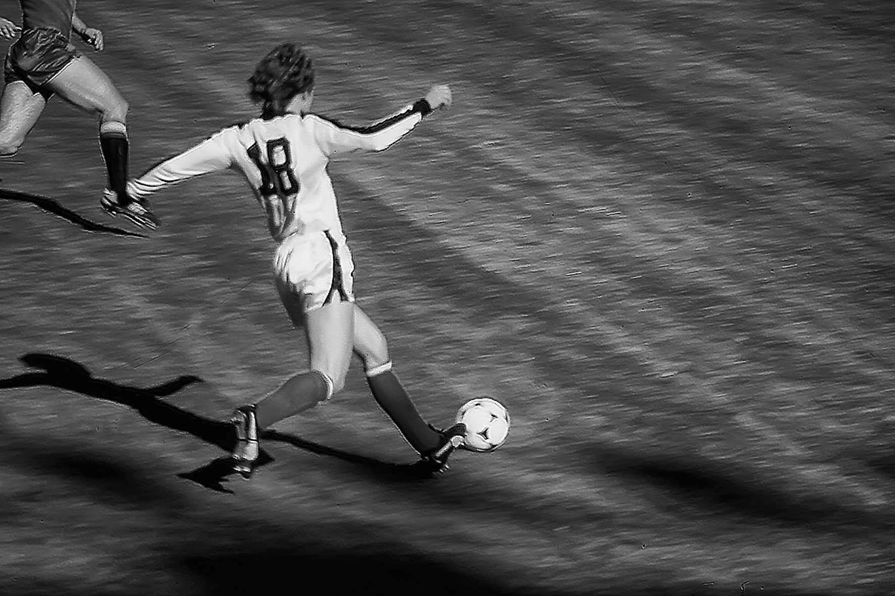 Walter Schachner vor dem 1:0 von Österreich gegen Spanien, WM 1978, Estadio Velez-Sarsfield - Buenos Aires/Argentinien