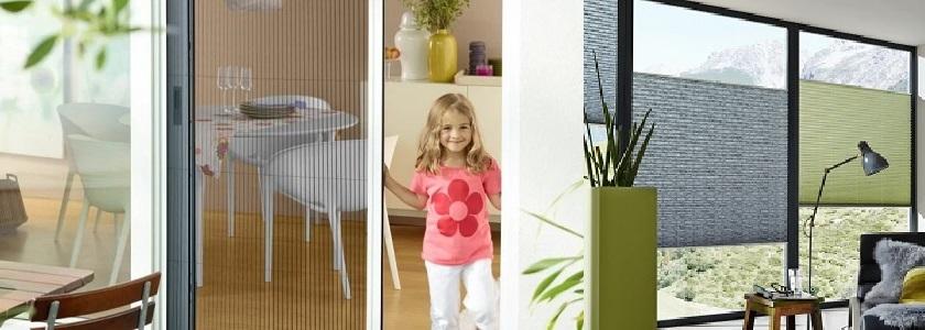 Insektenschutz und Innenbeschattung